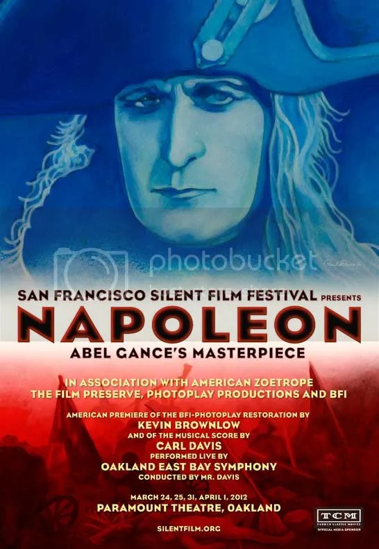 Napoleon Poster Paramount Theatre Oakland