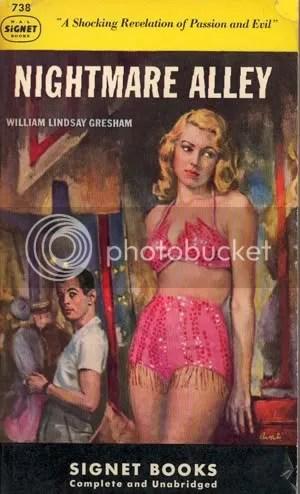 Nightmare Alley Vintage Book Cover