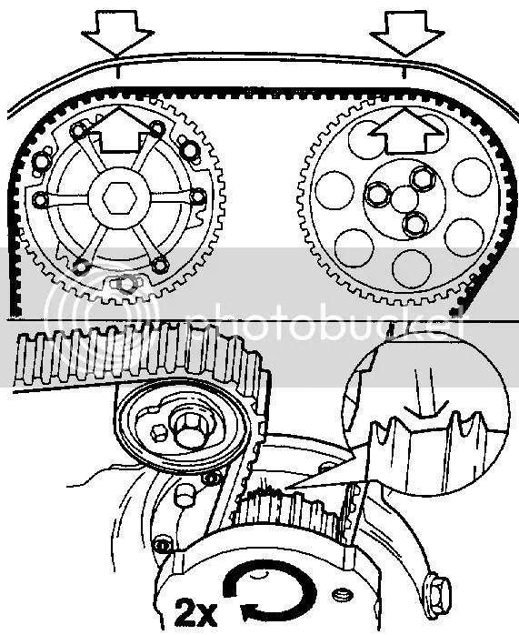 1991 Honda Civic Timing Marks