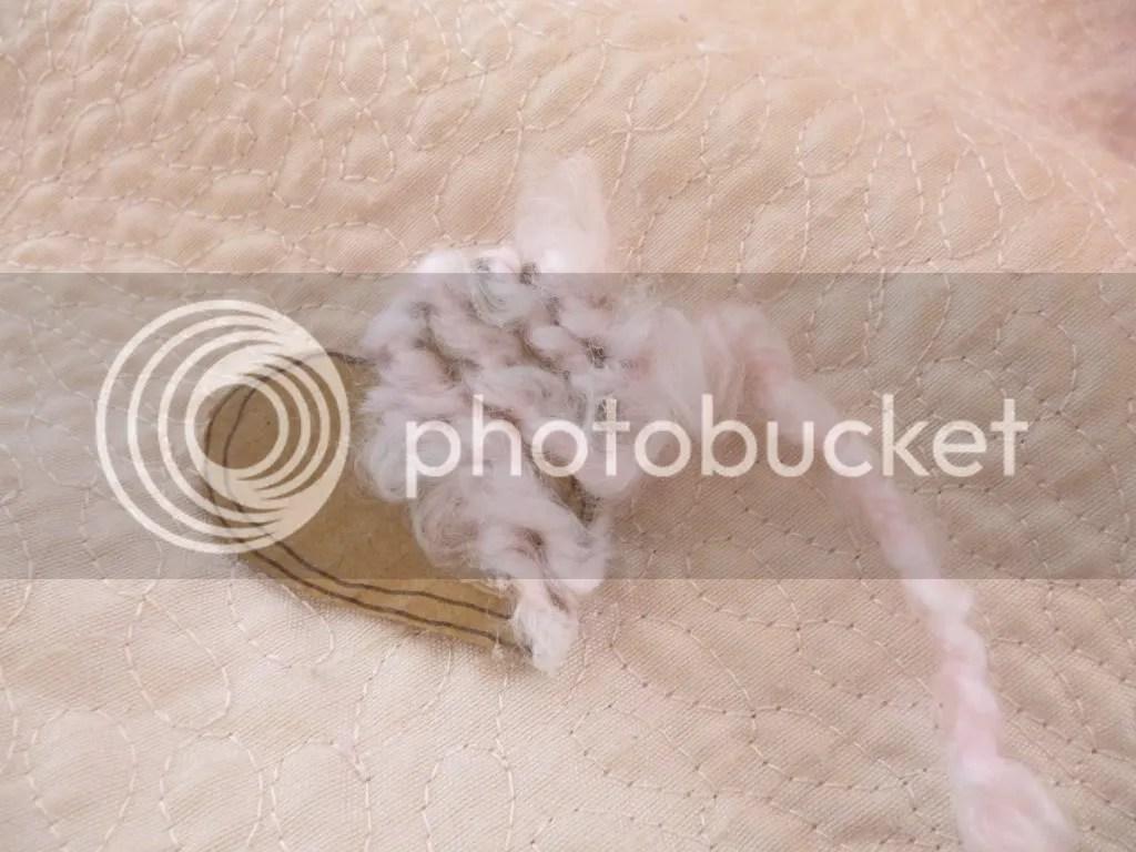 Magic Pearl Heart Cute Yarn Hair Clips Simple