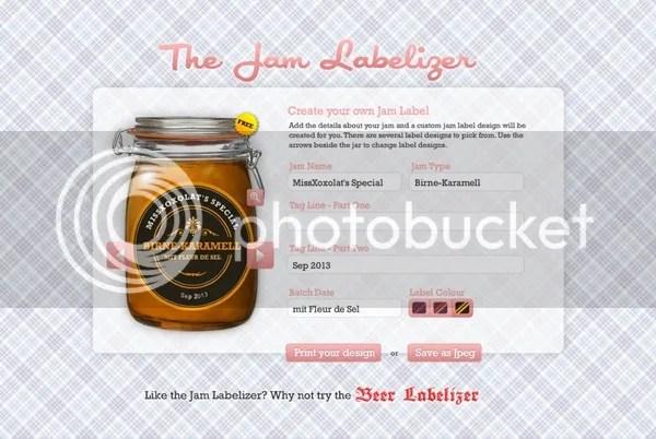 Jam Labelizer