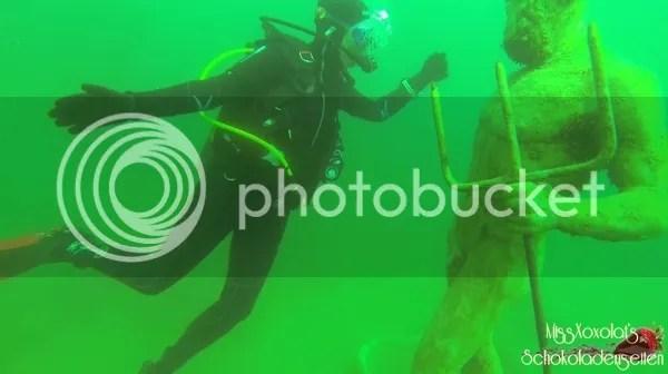 Poseidon im Neufelder See