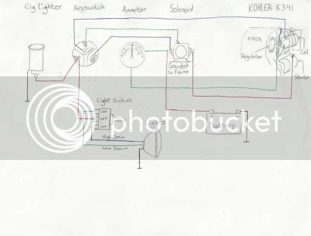 Hustler Wireing Diagram