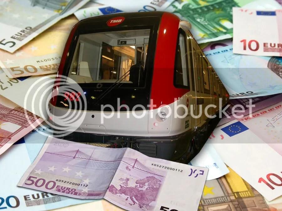 metro barcelona L9 mas euros