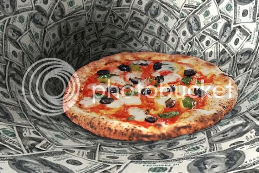 Un millón de dolares para pizzas