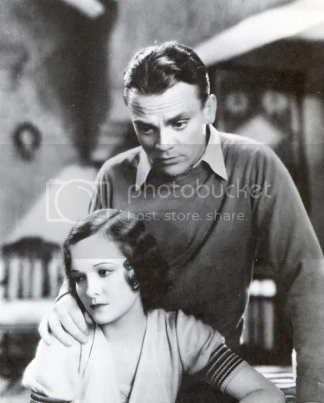 James Cagney and Marian Nixon
