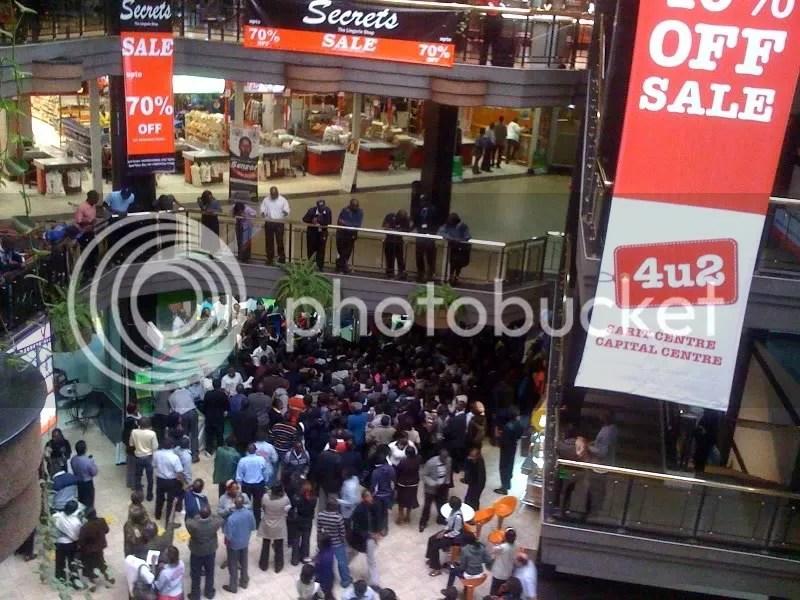 Nokia C3 Chaos at Sarit Centre... (2/4)