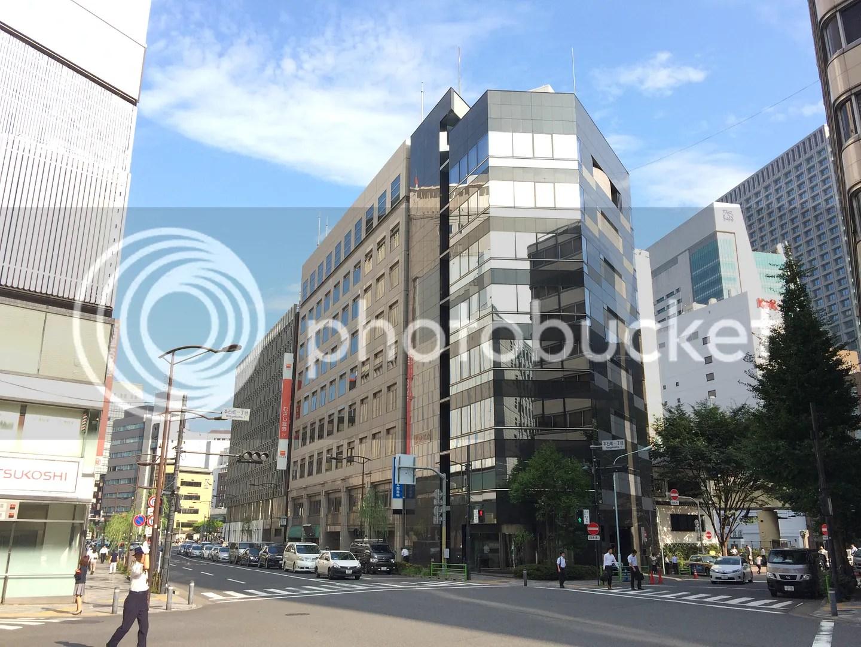 Khu Nihonbashi gần đó