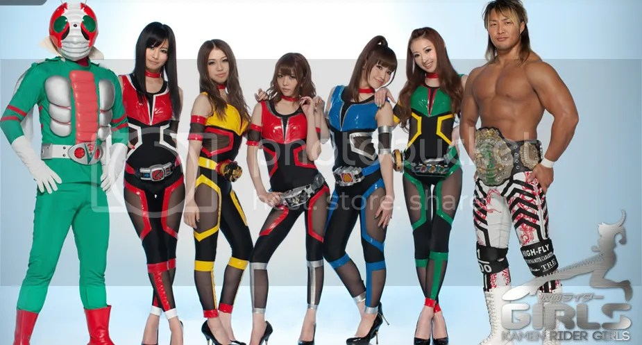 Kamen Rider V3, Kamen Rider GIRLS & Hiroshi