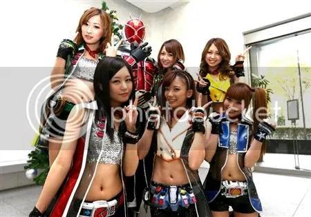 Kamen Rider GIRLS & Wizard