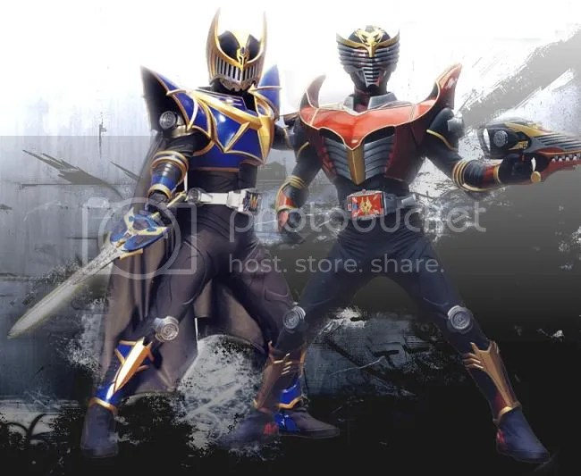 Kamen Rider Knight & Ryuuki Survive