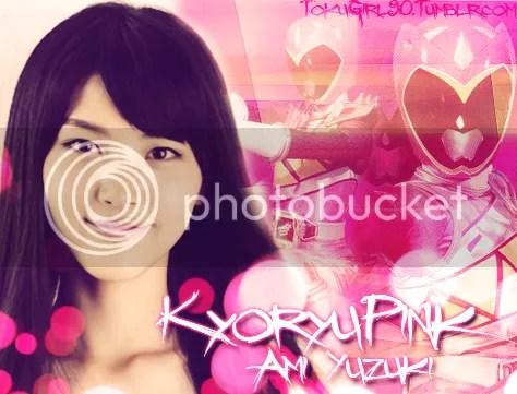 Konno Ayuri como Ami Yuzuki/Kyoryu Pink