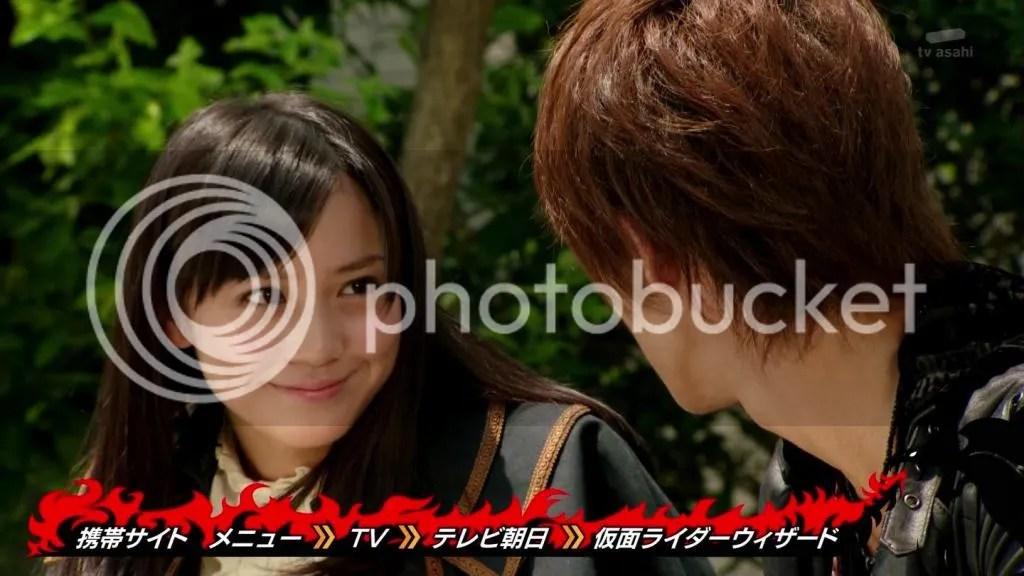 Okunaka Makoto em Kamen Rider Wizard como Koyomi