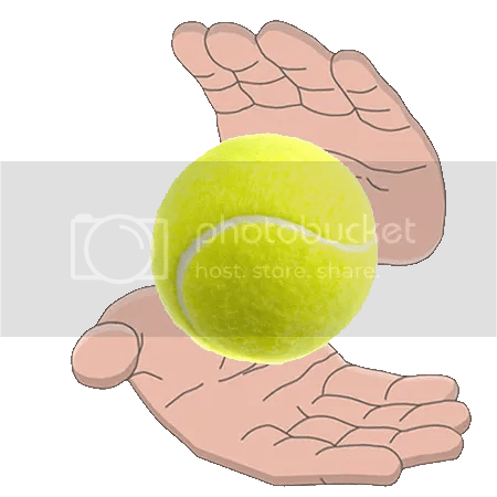 close up magic photo: Floating Tennis Ball FloatingTennisBall.png