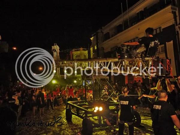 Night Festival 2012 Fuerzabruta