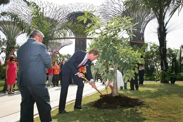 Prince William and Duchess Kate in Singapore Royal Visit