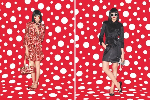 Louis Vuitton X Yayoi Kusama Lookbook