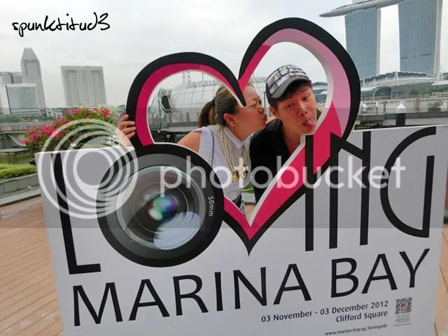 Clowning Around at Loving Marina Bay
