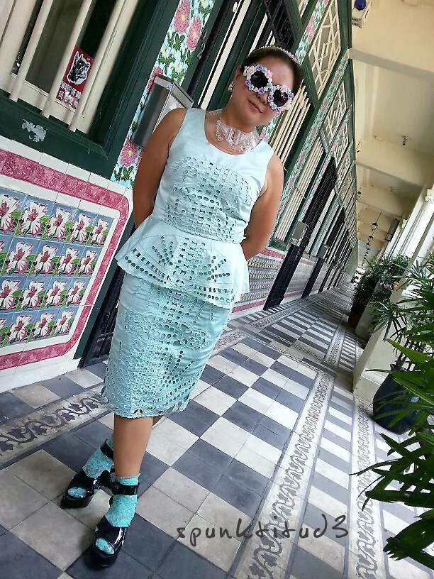 Look of the Day - Royal Minty