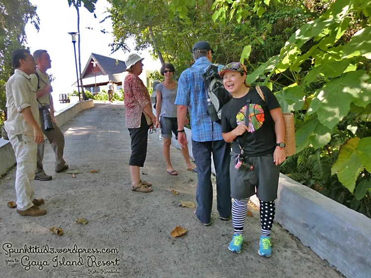 Nature Walk at Gaya Island Resort