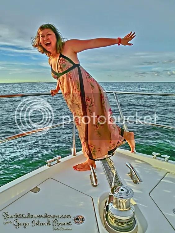 Sunset Cruise at Gaya Island Resort