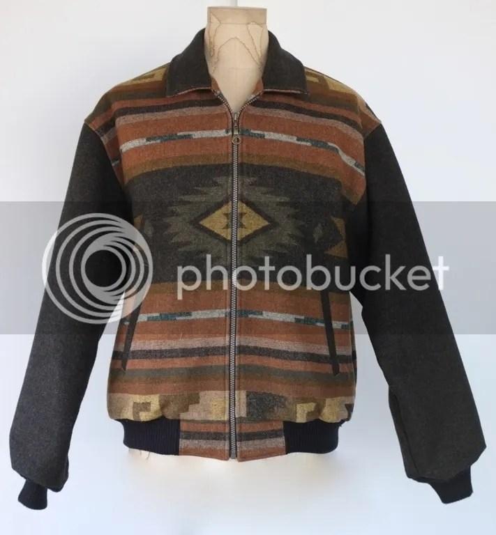 Vintage Pendleton Indian Blanket Jacket