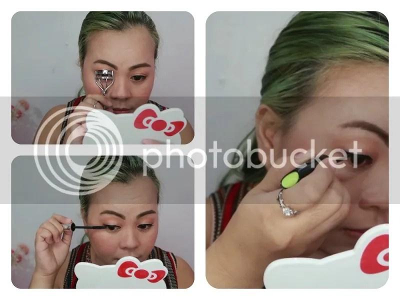 Menow Mascara and Careline Liquid Eyeliner