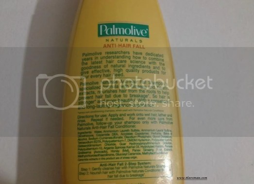Palmolive Naturals Anti-Hair Fall Shampoo