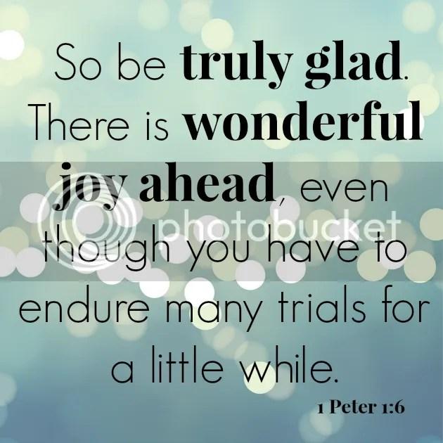 lent scripture 1 peter 1:6