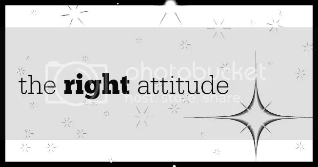 the right attitude lent day 24