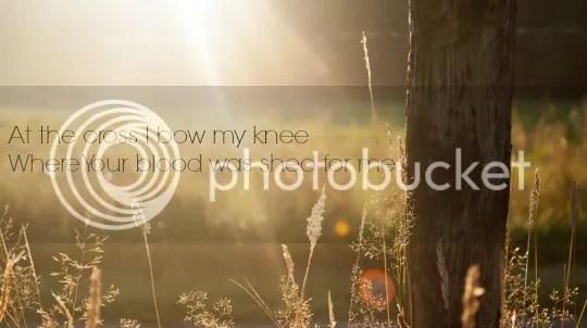 at the cross i bow my knee