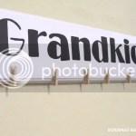 Grandkids clothespin board