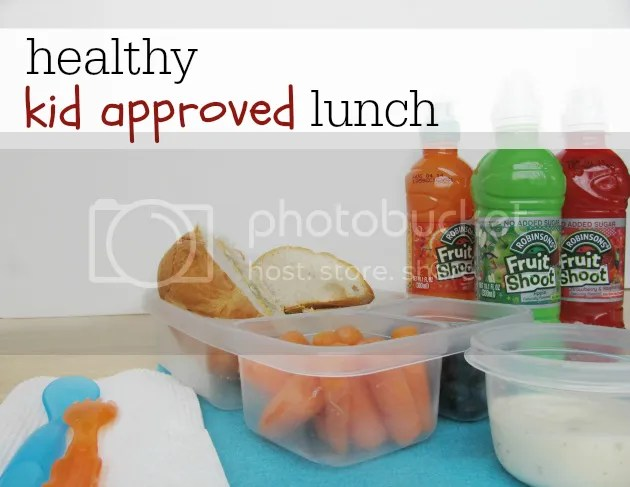 healthy kid approved lunch idea #ad #spon