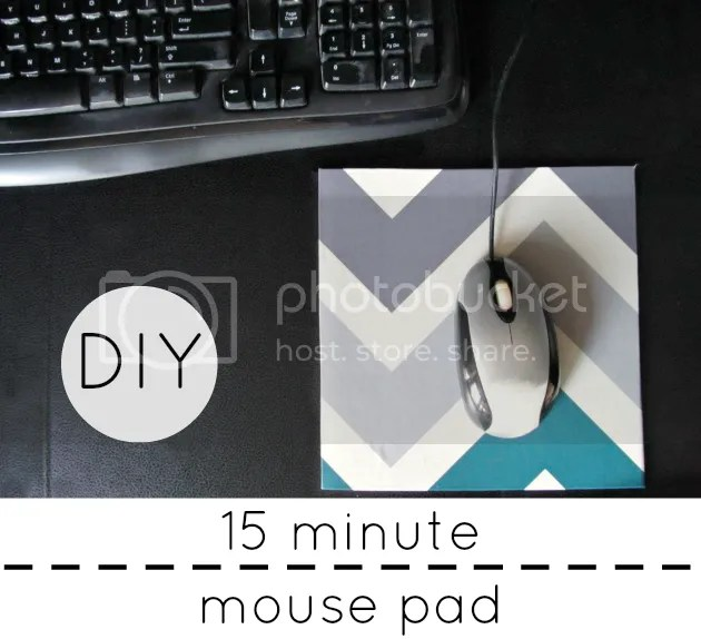 make your own mouse pad the pearl blog. Black Bedroom Furniture Sets. Home Design Ideas