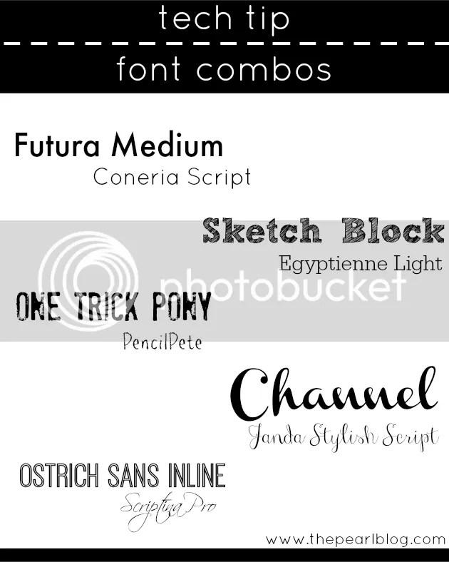 picmonkey font combos