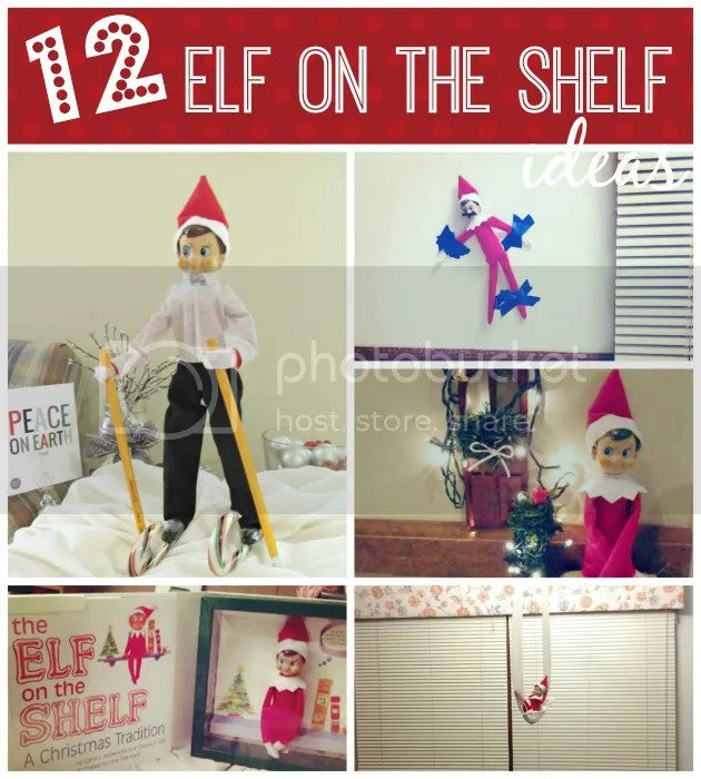 12 days of Elf on the Shelf