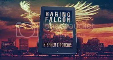 Raging Falcon kindle cover