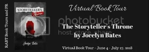 The Storyteller's Throne tour graphic