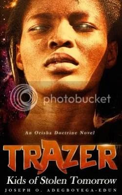 Trazer: Kids of a Stolen Tomorrow cover