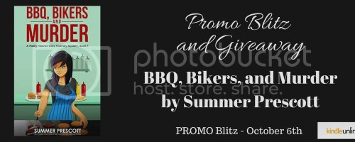 BBQ, Bikers, and Murder banner