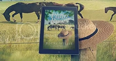 photo Plain Roots on tablet with book cover background_zps1ml9hblh.jpg