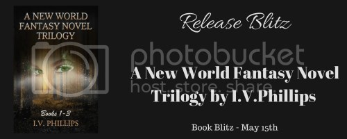A New World Fantasy Novel Trilogy banner