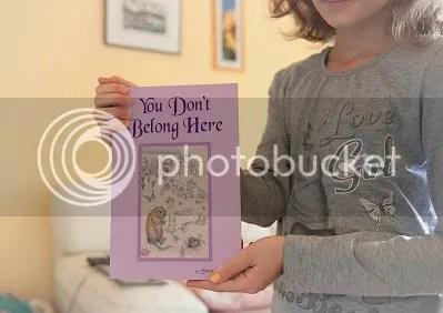 photo You Dont Belong Here girl holding print_zpsphkpfg7d.jpg