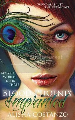 blood phoenix: imprinted cover