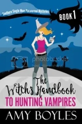 The Witch's Handbook to Hunting Vampires cover