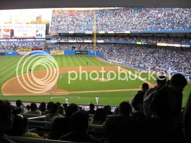 Yankees vs. Mariners Yankee Stadium