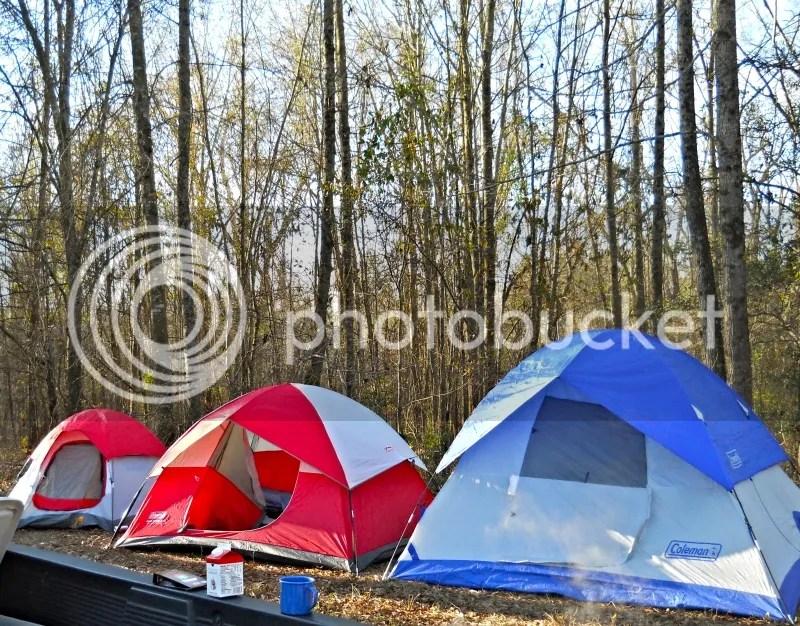 The three bears camp.