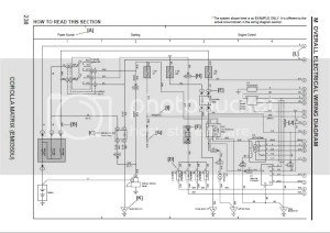 Toyota Corolla 2007 Wiring Diagram | Auto Repair Manual