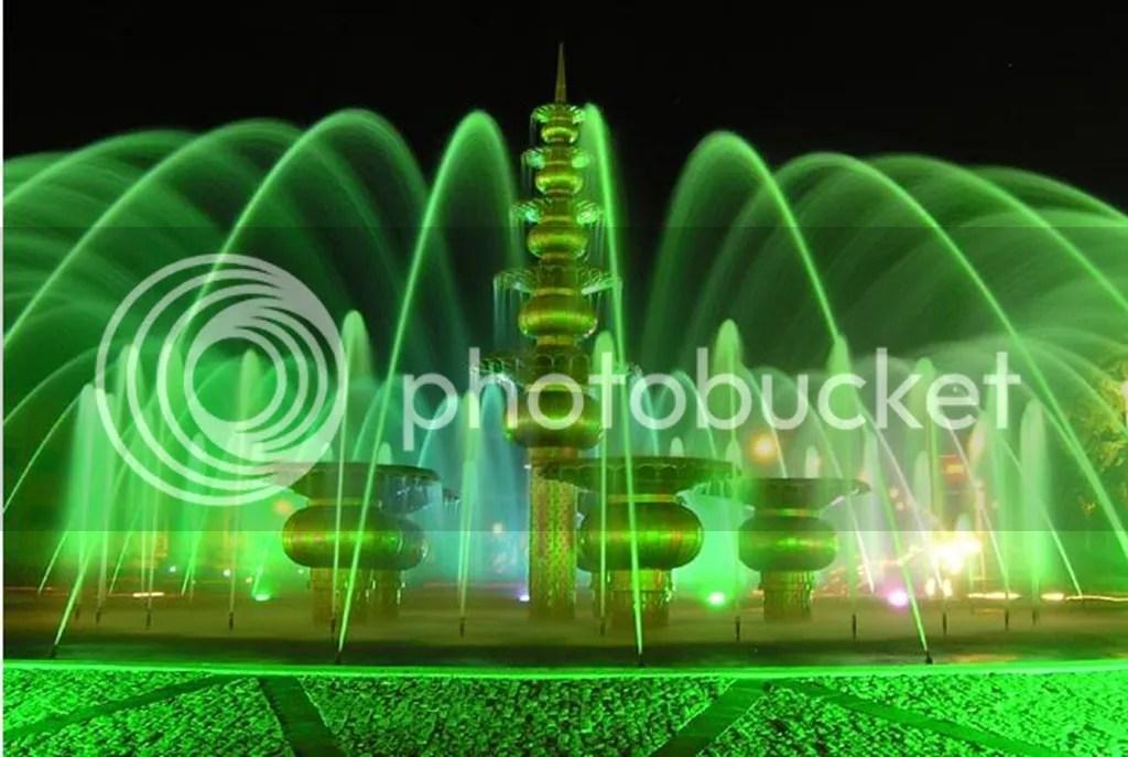 Bundaran Air Mancur (BAM) Palembang