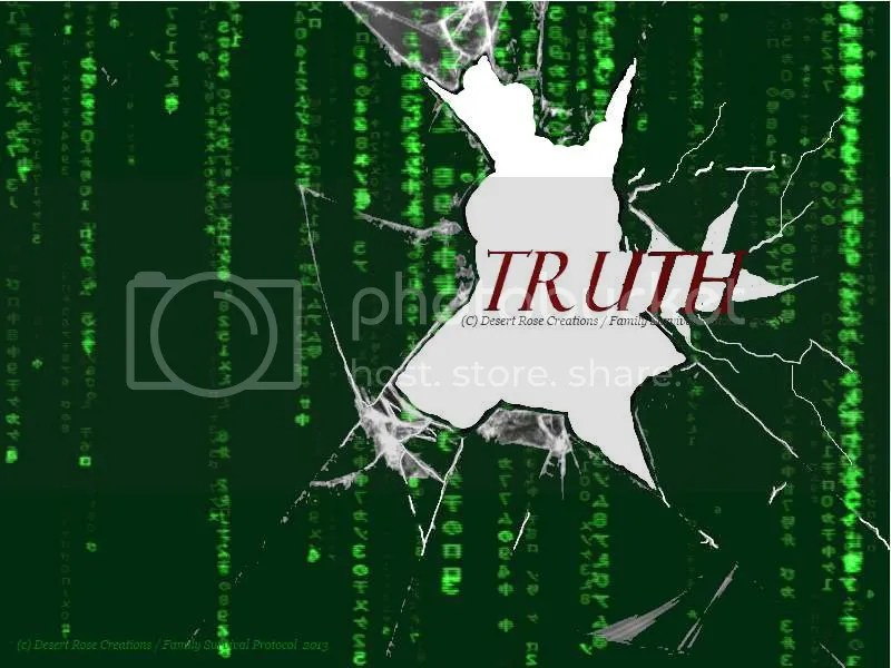 Truth Breaking Through The Matrix : Composite created with Jamie Zawinski (The Matrix screenshot) as background CC with attribution photo BreakingthroughthematrixFSB2_zps01825e4c.jpg